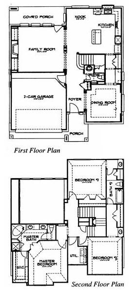 Dh Horton Floor Plans   Dh Horton Home Plans Home Plan